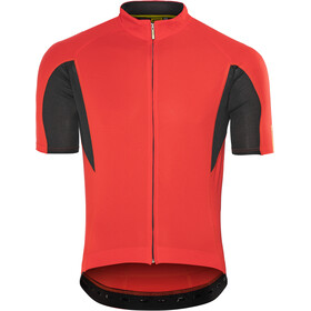 Mavic Aksium Jersey Heren, racing red/black
